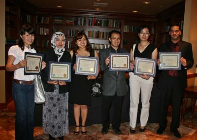 Scholarship Recipients 2009