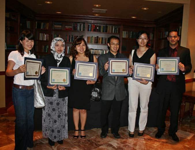 Scholarship Recipients 2009